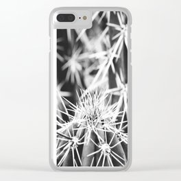 Spine Tingling Clear iPhone Case