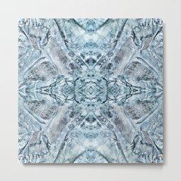 Pattern 30 - Ice Metal Print