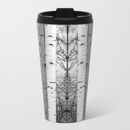 Into the Woods / Black & White Travel Mug
