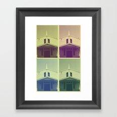 Same Shit, Different Deity Framed Art Print