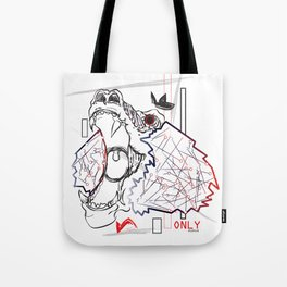 BABA gets me going  Tote Bag