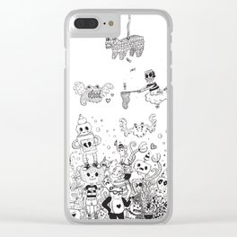 Front Row Tickets Clear iPhone Case