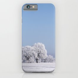 Winter Idyll In The North Of Germany iPhone Case