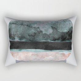 Geometric Textures 12 Rectangular Pillow