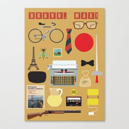 Bravo, Max! Poster Canvas Print