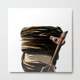 Little Weapon Metal Print