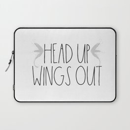 Head up, Wings Out Laptop Sleeve
