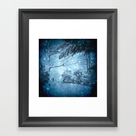 Winter View Framed Art Print