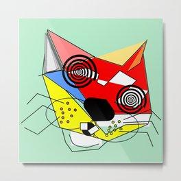 Alley Cat Metal Print