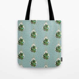 Hanging Terrariums Tote Bag
