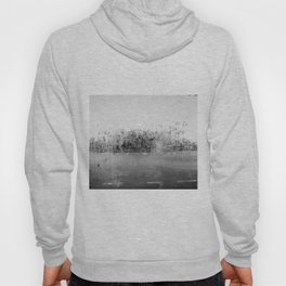 A través del cristal (black and white version) Hoody