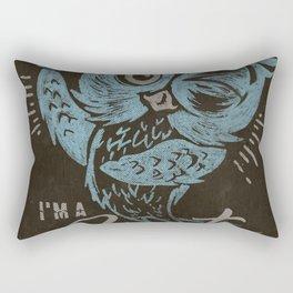 I'M A HOOT Rectangular Pillow