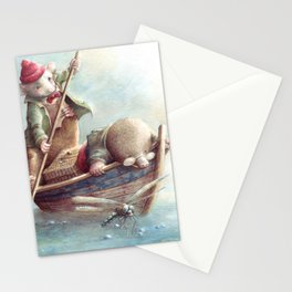 Friendship - The Wind in the Willows Stationery Cards