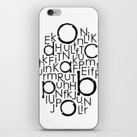 typo iPhone & iPod Skins featuring typo by Catherine_S