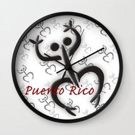 Coqui Taino Wall Clock