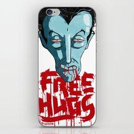 Vampiric Free Hugs iPhone Skin