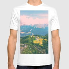 In the Dolomites White Mens Fitted Tee MEDIUM