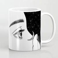 contact Mugs featuring Contact by Henn Kim