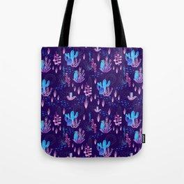 Neon Cacti Tote Bag