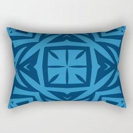 Deep Blue (colored Callisto) Rectangular Pillow