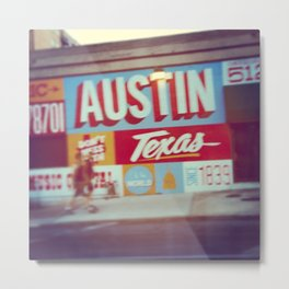 Austin, Texas Metal Print