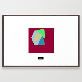 014 Framed Art Print