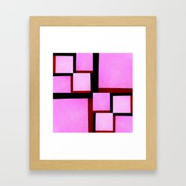The delicate extremes Framed Art Print