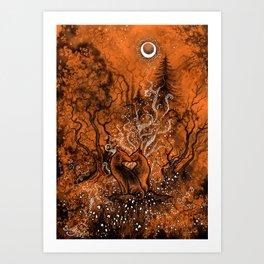 Evening Dreams Art Print