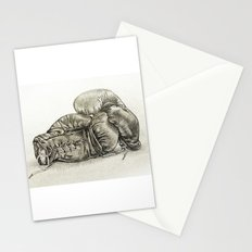 Boxing gloves Stationery Cards