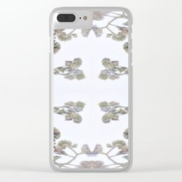 Forget Me Nots Study Clear iPhone Case