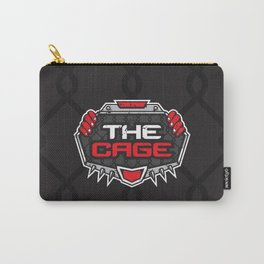 The Cage Fight Illustration Carry-All Pouch