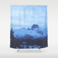 norway Shower Curtains featuring Northern Norway by Christin Malen Andreassen