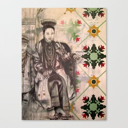 Peranakan Tiles Canvas Print