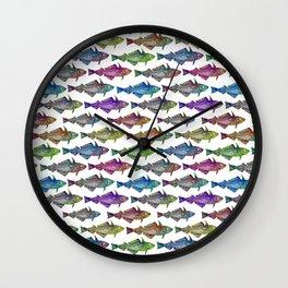 Fisherman baby Wall Clock