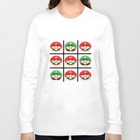 super mario Long Sleeve T-shirts featuring Super Mario by Xiao Twins