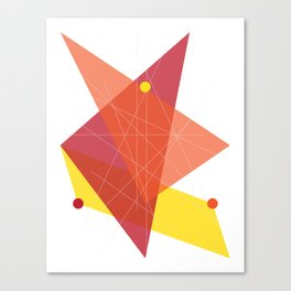 Abstract Triangle Canvas Print