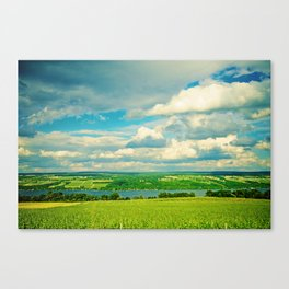 Seneca Lake Wine Road Canvas Print