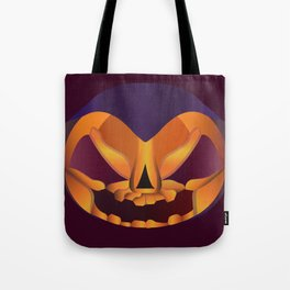 The face of Halloween Tote Bag