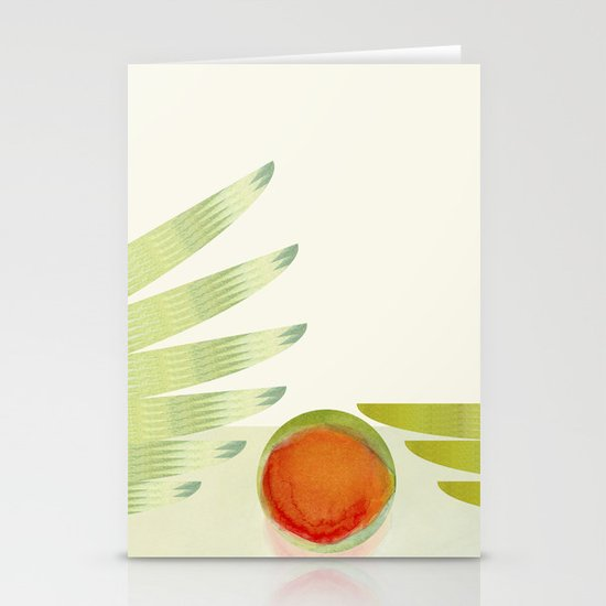 green 2   digital sessions Stationery Cards