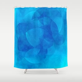 Schnittmenge III Water Shower Curtain
