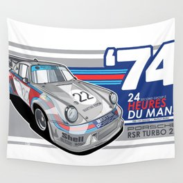 PORSCHE - 911 RSR GROUP S Wall Tapestry