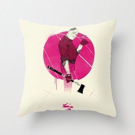 Mr Spiv Throw Pillow