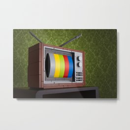 57 Channels and Nothing On Metal Print