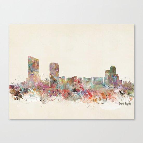 grand rapids michigan Canvas Print