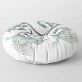Dragon print Floor Pillow