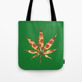 Pizza Does Grow On Trees Tote Bag