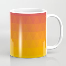 Pink and Yellow Ombre - Flipped Coffee Mug