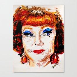 Agnes Moorehead Canvas Print