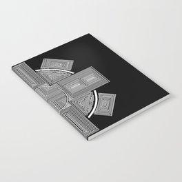 Clockwork Wheel Cross Notebook