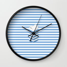 SPLIT MILK Wall Clock